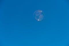 在天空的泡影 免版税库存照片