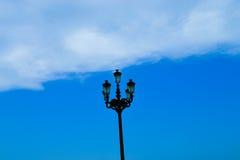 在天空的灯笼 库存图片