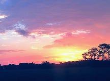 在天空的秀丽 免版税库存照片