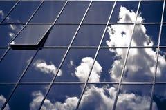 在天空的视窗 库存图片