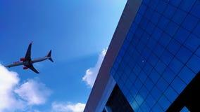 在天空的针 免版税图库摄影