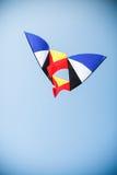 在天空的风筝飞行 图库摄影