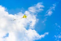 在天空的风筝 库存照片