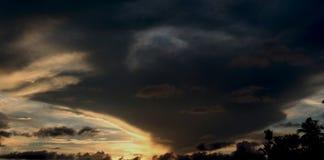 在天空的鬼魂乘驾 免版税图库摄影