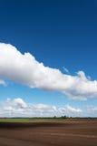 在天空的Cluds 免版税库存照片