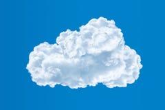 在天空,云彩计算的概念的云彩 库存照片