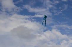 在天空02的风筝 库存图片