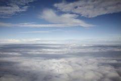在天空 图库摄影