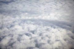 在天空 免版税图库摄影