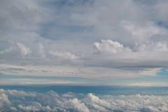 在天空 库存照片