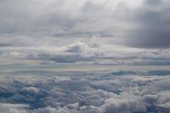 在天空 免版税库存照片