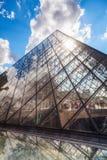 在天窗在巴黎,法国 库存图片