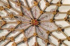 在天花板圣母堂的上司在维尔斯大教堂B 免版税库存图片