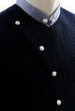 在天鹅绒的新郎礼服 免版税库存照片