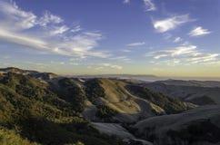 在太平洋的日落 图库摄影