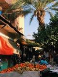 在太阳下的马拉喀什SOUK 图库摄影