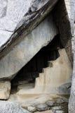 在太阳下马丘比丘秘鲁南Ameri的寺庙的皇家坟茔 免版税库存照片