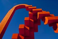 在奇瓦瓦狗的雕塑 免版税库存图片