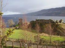在奈斯湖2的苏格兰lanscape 图库摄影