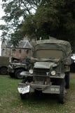 在奈梅亨桥梁附近的美国战士 库存照片