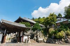 在奈良Nigatsu寺庙 免版税库存照片