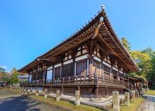 在奈良Sangatsu Todai籍复合体的霍尔 库存图片