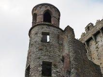 在奉承城堡爱尔兰的塔 免版税库存图片