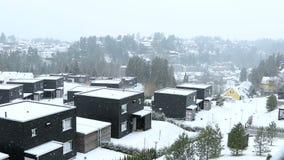 在奥斯陆下雪 股票录像