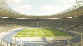 在奥林匹亚体育场里面在柏林 库存照片