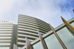 在奥林匹克公园的高公寓,悉尼,澳大利亚 库存图片