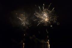 在奥林匹克湖的火箭队 免版税库存图片