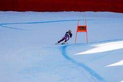 在奥迪FIS高山滑雪世界杯-下坡的人的Jansrud Kjetil 库存照片