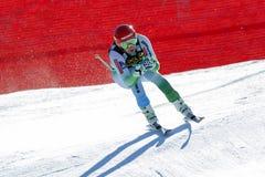 在奥迪FIS高山滑雪世界杯-人的下坡R的Sporn Andrej 免版税图库摄影