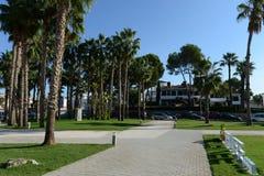 在奥里韦拉肋前缘的高尔夫俱乐部 图库摄影