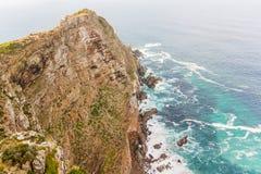 在好望角南非附近的开普角 免版税库存照片