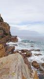 在好望角的大西洋海岸 库存照片