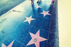 在好莱坞大道的基夫・修打兰星 免版税库存图片