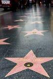 在好莱坞星光大道的唐纳德・川普星 免版税图库摄影