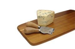 在委员会的模子乳酪 库存照片