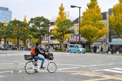 在姬路城堡,日本附近的街道 库存照片