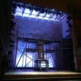 在威尔敦的音乐厅的阶段 免版税库存图片
