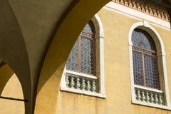 在威尼斯式样式的窗口 库存照片