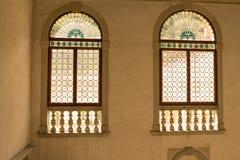 在威尼斯式样式的窗口 免版税库存图片