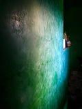 在威尼斯式灰泥的墙壁 免版税库存照片