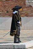 在威尼斯狂欢节的面具 库存照片