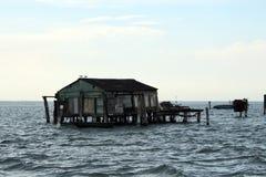 在威尼斯盐水湖,意大利 免版税库存照片