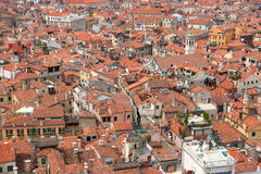 在威尼斯视图之上 免版税图库摄影