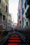 在威尼斯附近的旅行 免版税库存图片
