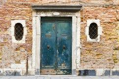 在威尼斯,意大利附近的Burano海岛 免版税图库摄影