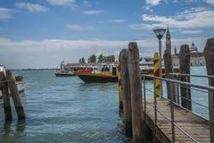 在威尼斯(大运河) 免版税图库摄影